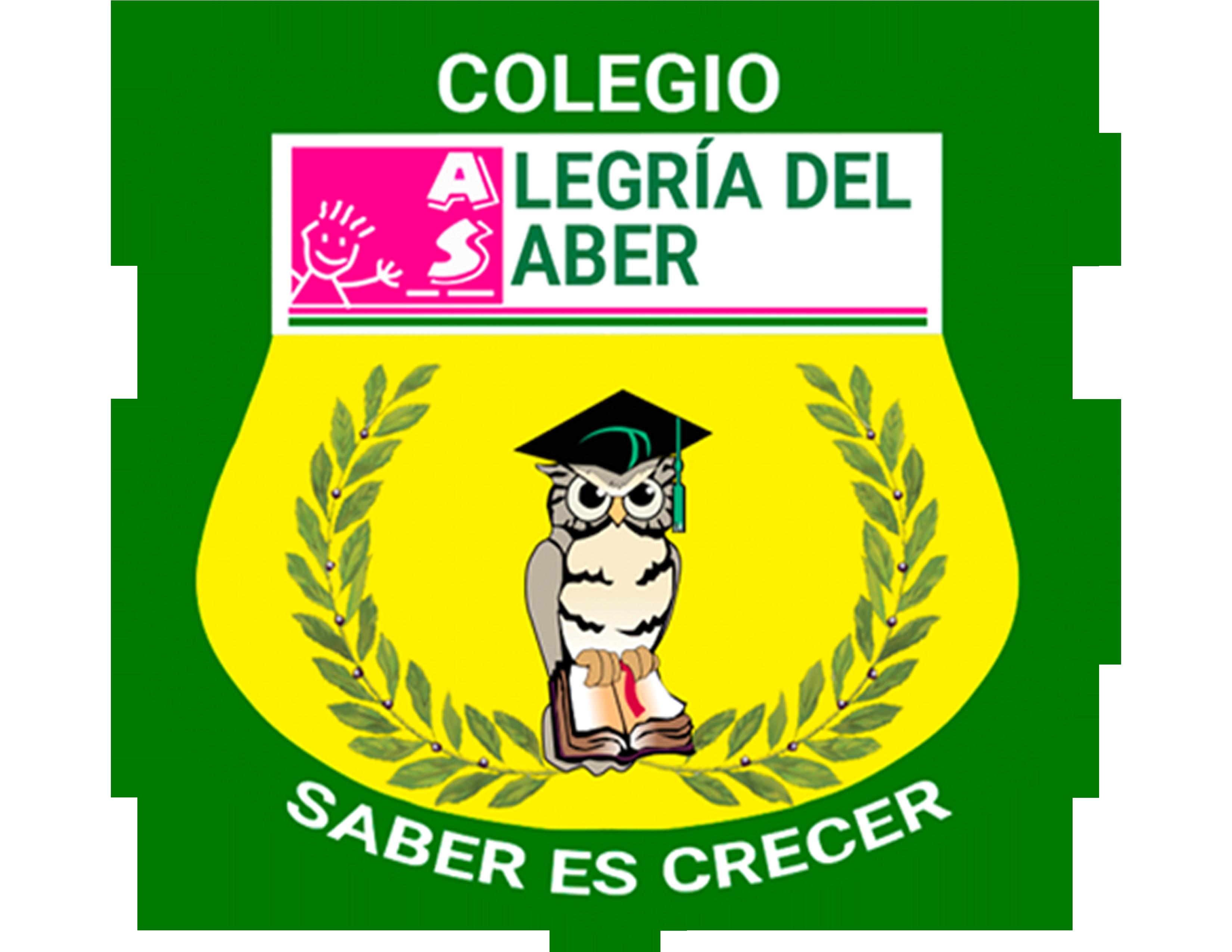 Colegio Alegría del Saber - logo